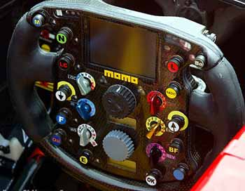 Ferrari steering wheel anno 2002