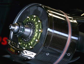 Toro Rosso STR3 brake system