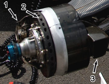 Toyota TF08 brake system