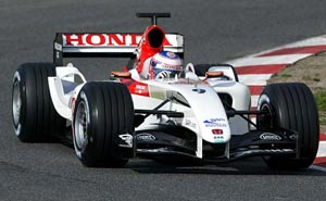 BAR (British American Racing), equipe historica de Formula 1 de 2004 - f1technical.net