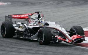 McLaren Mercedes MP4-21 image