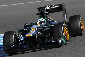 Caterham CT01 image