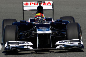 Williams FW34 image
