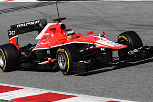 Marussia MR02 image