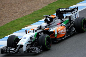 Sahara Force India VJM07 image