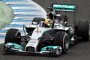 Mercedes AMG F1 W05 image