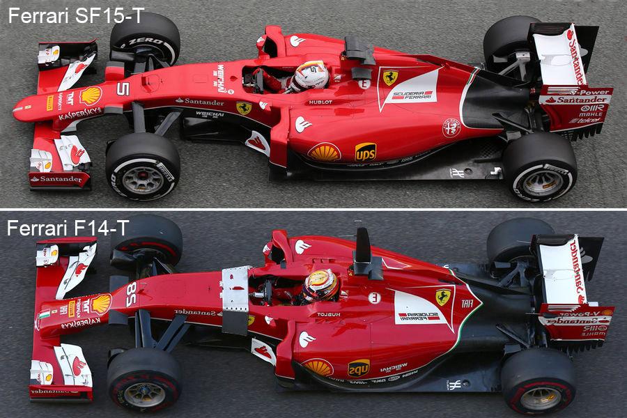 Ferrari f1 front wing