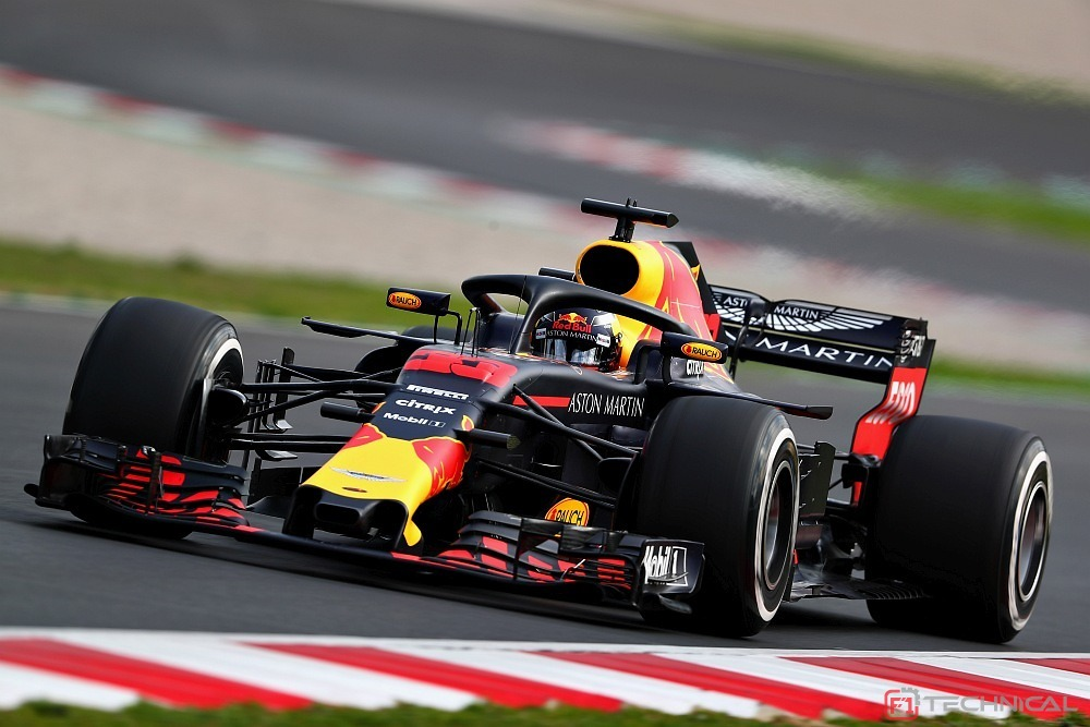 Max Verstappen Of The Netherlands Driving The Red Bull