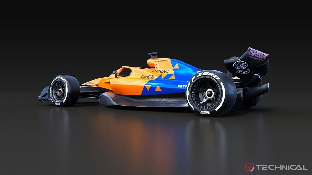 mclaren 2021 car rendering - photo gallery