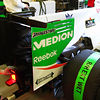 Force India rear wing