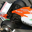 Force India VJM05 exhausts