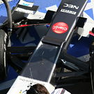 Sauber nosevent detail