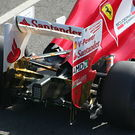 Ferrari rear suspension detail