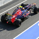 Toro Rosso in pits