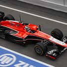 Marussia MR02 in pitlane