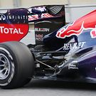 Red Bull rear suspension detail