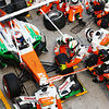 Force India struggle with faulty wheelnuts