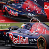 STR9 vs STR10 - Sidepods and engine cover