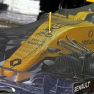Renault Sport F1 Team RS16 in parc ferme conditions