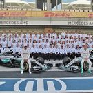 Mercedes AMG F1 Team photo