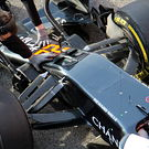 McLaren MP4-31 front suspension detail