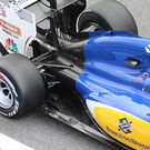 Sauber rear suspension detail