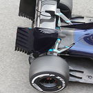 Toro Rosso STR11 rear suspension detail