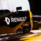 The Renault Sport Formula One Team car livery