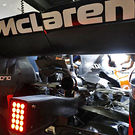 McLaren MCL32 rear end