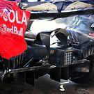 Scuderia Toro Rosso STR12 rear diffuser detail