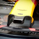 Red Bull Racing RB13 duct on nosecone