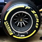 Red Bull Racing RB13 rear wheel