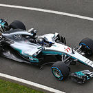 Mercedes AMG F1 W08  top view