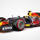 Red Bull RB13 Renaut - three quarter studio render