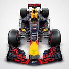 Red Bull RB13 Renaut - top studio render