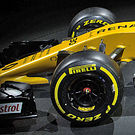 Renault RS17 nose detail