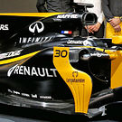 Renault RS17 sidepod detail