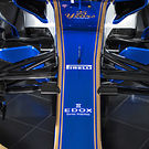 Sauber C36 front suspension detail