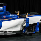 Sauber C36 mid section