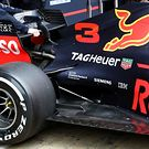 Red Bull Racing RB14 rear suspension detail