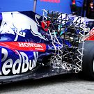 Scuderia Toro Rosso STR13 rear suspension sensor equipment
