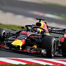 Max Verstappen of the Netherlands driving the Red Bull RB14