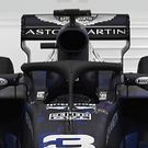 Red Bull RB14 front view on cockpit