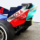 Scuderia Toro Rosso STR13 rear wing detail