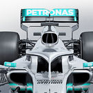 Mercedes W10 rendering - detail