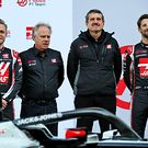 Haas VF-20 unveiling at Barcelona pitlane