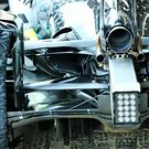 Mercedes AMG F1 W11 rear suspension detail
