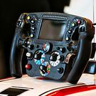 Alfa Romeo Racing C39 steering wheel