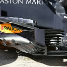 Red Bull Racing RB16 barge board detail