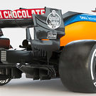 McLaren MCL35 - rear view